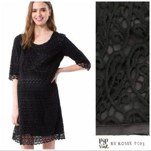 pip & vine by Rosie Pope lace overlay dress
